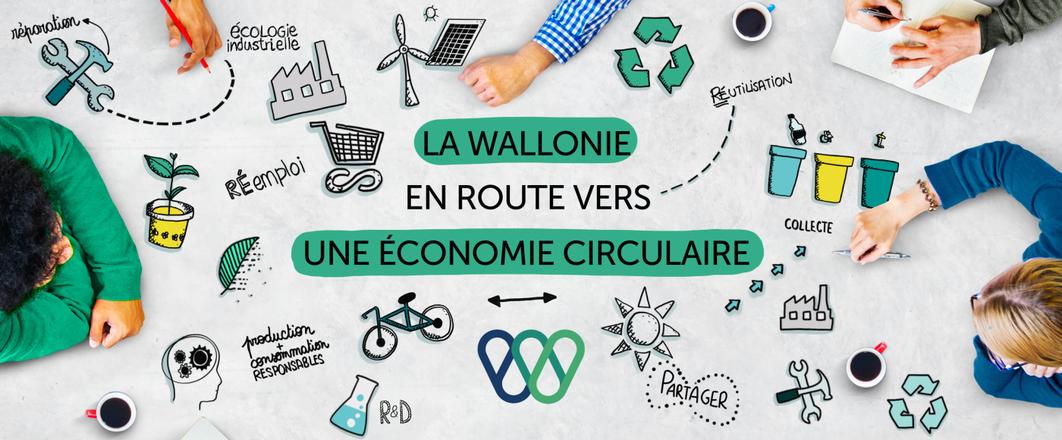 Consultation publique sur l'avant-projet de la Stratégie de déploiement de l'économie circulaire en Wallonie