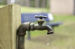 Restriction de l'eau de distribution