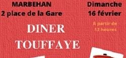 Dîner Touffaye à Marbehan
