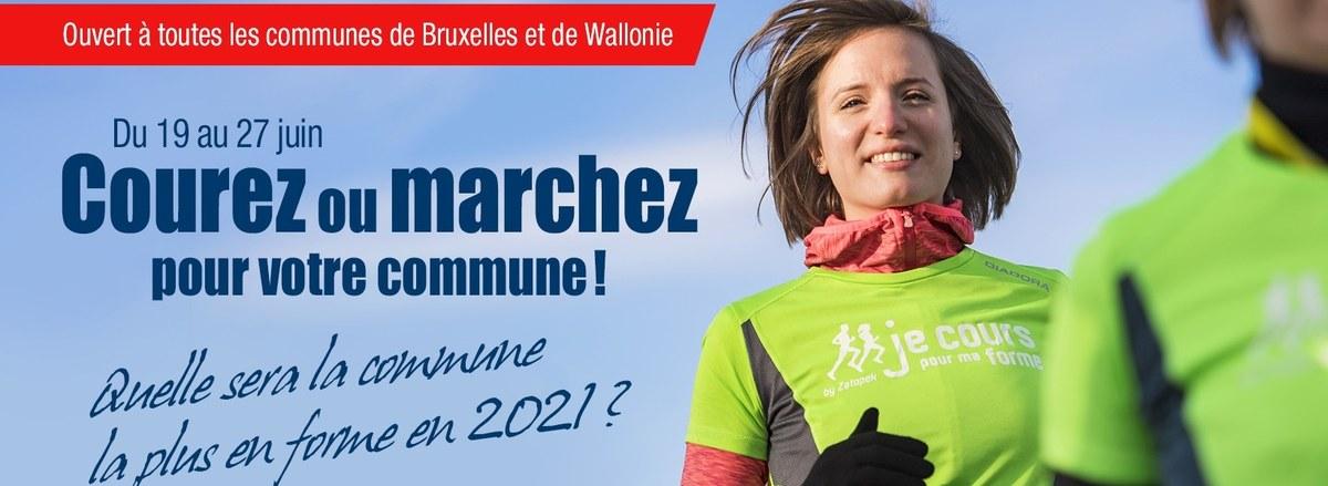 Du 19 au 27 juin, courez ou marchez pour votre commune!