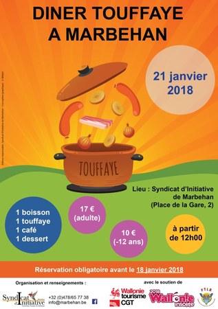 Repas Touffaye à Marbehan