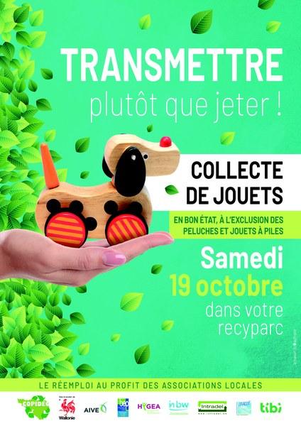 Collecte des jouets recyparcs 2019 - collection