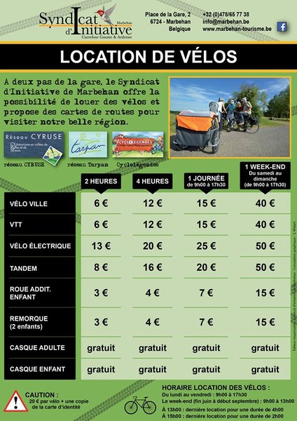 Location vélos SI Marbehan