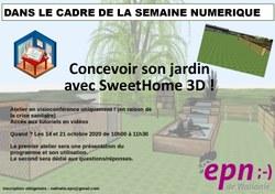 CONCEVOIR SON JARDIN EN 3D avec SWEETHOME 3D