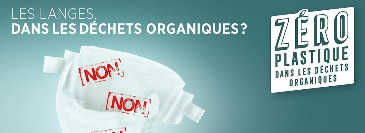 IDELUX Environnement : les langes, dans les déchets organiques ? Non, non, non !